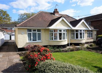 Thumbnail 2 bed semi-detached bungalow for sale in Mead Road, Chandlers Ford