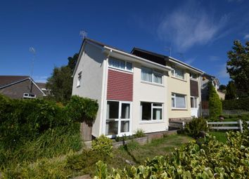 Thumbnail 3 bed semi-detached house for sale in Holmwood Avenue, Goosewell, Plymouth, Devon