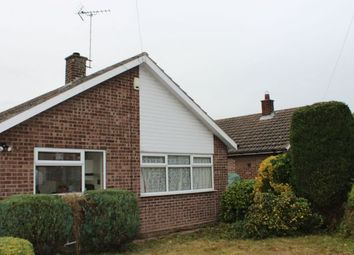 Thumbnail 2 bed detached bungalow for sale in Ridgeway Close, Farnsfield, Newark