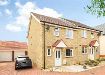 Thumbnail 3 bed semi-detached house for sale in Charlesby Drive, Watchfield, Oxfordshire