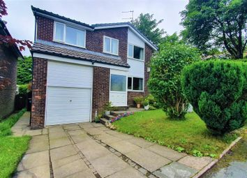 Thumbnail 4 bed detached house for sale in Rookery Close, Stalybridge