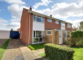 Thumbnail 3 bed semi-detached house to rent in Ongar Place, Rowtown, Surrey