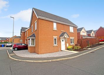Thumbnail 3 bed detached house for sale in Brunel Close, Burslem, Stoke-On-Trent