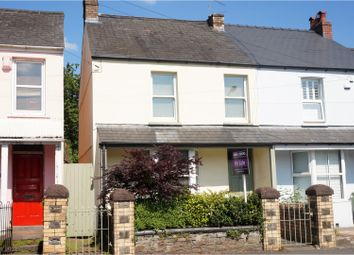 Thumbnail 3 bedroom semi-detached house for sale in Heol Isaf, Radyr