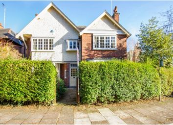 Thumbnail 4 bed detached house for sale in Western Park Road, Leicester