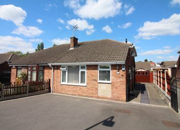 Thumbnail 2 bed semi-detached bungalow for sale in Earl Drive, Giltbrook, Nottingham