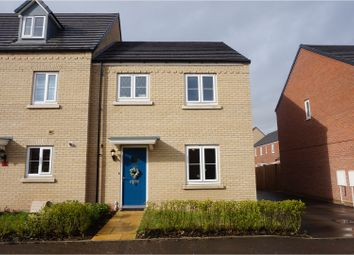 Thumbnail 3 bed end terrace house for sale in Witham Road, Spalding