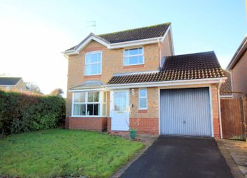 Thumbnail 3 bed detached house for sale in Swan Close, Stafford