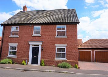 Thumbnail 4 bedroom detached house for sale in Hall Wood Road, Sprowston, Norwich