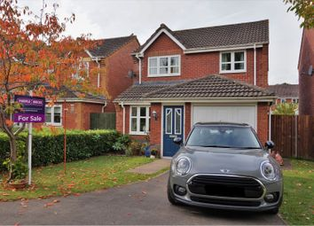 Thumbnail 3 bed detached house for sale in Trafalgar Close, Monmouth