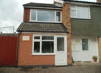 Thumbnail 1 bed town house to rent in Gwendoline Drive, Countesthorpe, Leicester