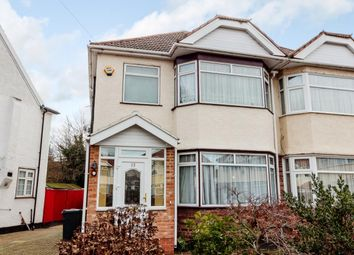 Thumbnail 3 bed semi-detached house to rent in Morland Gardens, Southall