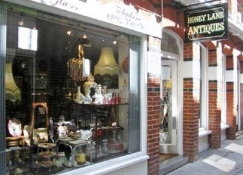Thumbnail Retail premises for sale in 4 Honey Lane, Hertford
