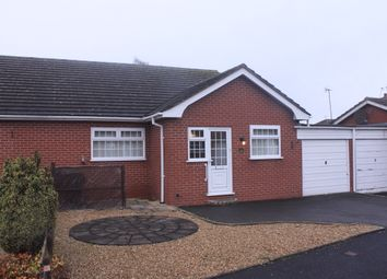 Thumbnail 2 bed semi-detached bungalow for sale in Hollywood Gardens, Hollywood, Birmingham