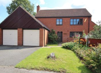 Thumbnail 4 bed detached house for sale in Main Road, Hambleton, Selby