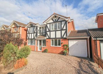 Thumbnail 4 bed detached house for sale in Orwell Close, Galley Common, Nuneaton