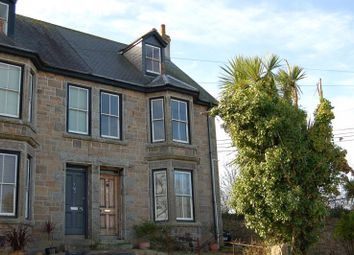 Thumbnail 4 bed semi-detached house for sale in Tyringham Road, Lelant, St. Ives