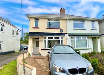 Thumbnail 3 bed semi-detached house for sale in Station Road, Newton Poppleford, Sidmouth