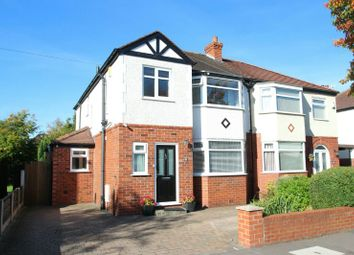 Thumbnail 3 bed semi-detached house for sale in St. Leonards Drive, Timperley, Altrincham