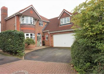 Thumbnail 4 bed detached house for sale in Cromwell Way, Preston