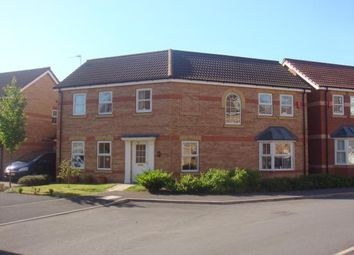 Thumbnail 4 bedroom detached house to rent in Heron Drive, Gainsborough