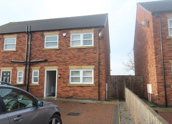 Thumbnail 3 bed semi-detached house to rent in Foxglove Close, Scunthorpe
