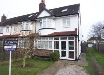 Thumbnail 5 bedroom semi-detached house to rent in Meadowview Road, West Ewell, Epsom