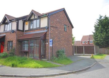 Thumbnail 2 bed semi-detached house for sale in Matlock Close, Great Sankey, Warrington