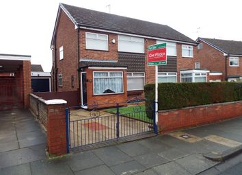 Thumbnail 3 bed semi-detached house for sale in Shallmarsh Road, Bebington, Wirral
