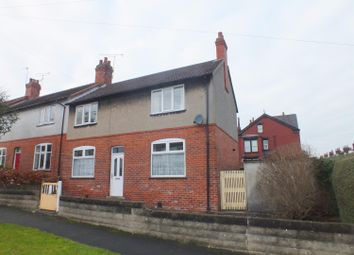 Thumbnail 3 bed terraced house for sale in Roman Crescent, Roundhay, Leeds