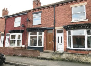 Thumbnail 3 bed terraced house to rent in King Street, Creswell, Worksop