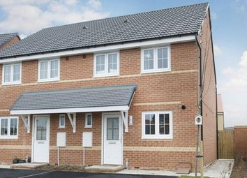 "Thumbnail 3 bed semi-detached house for sale in ""Barwick"" at Monkton Lane, Hebburn"
