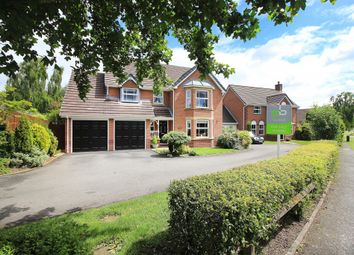 Thumbnail 4 bed detached house for sale in Hazelton Close, Solihull