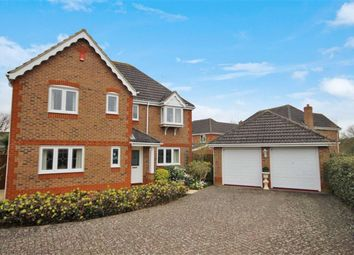 Thumbnail 4 bedroom detached house for sale in Noyes Close, Taw Hill, Swindon