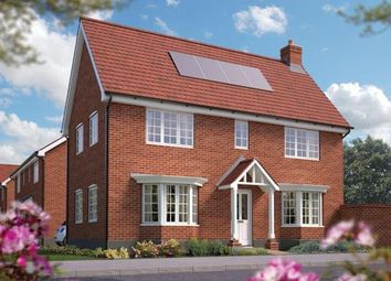 Thumbnail 3 bed detached house for sale in Off Silfield Road, Wymondham, Norfolk