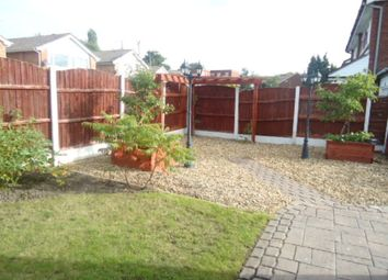 Thumbnail 3 bedroom semi-detached house to rent in Hollymount Gardens, Great Moor, Stockport