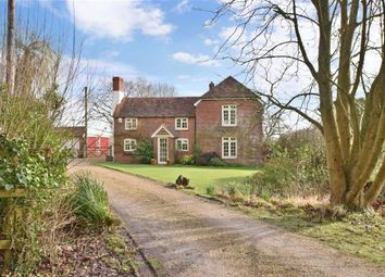 Thumbnail 4 bed detached house for sale in Church Road, Newtown, Fareham, Hampshire