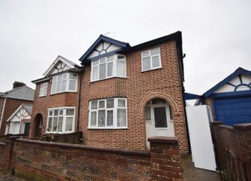 Thumbnail 4 bed semi-detached house to rent in Cowper Street, Luton