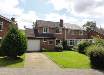Thumbnail 3 bed semi-detached house to rent in 5 The Swallows, Ledbury, Herefordshire