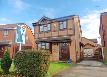 Thumbnail 3 bed detached house for sale in Meadow Rise, Winsford