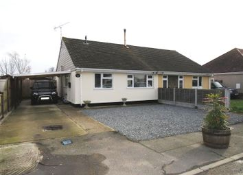 Thumbnail 2 bed semi-detached bungalow for sale in Limburg Road, Canvey Island