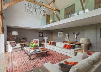 Thumbnail 5 bed barn conversion for sale in Three Houses Lane, Codicote, Hitchin, Hertfordshire