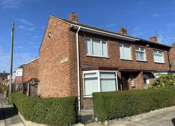 Thumbnail 3 bed semi-detached house for sale in York Road, Linthorpe, Middlesbrough