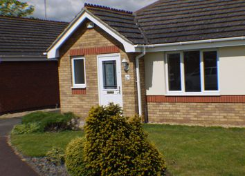 Thumbnail 2 bed bungalow to rent in Glebe View, Market Deeping, Peterborough