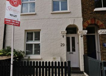 Thumbnail 3 bed terraced house to rent in Newton Road, London