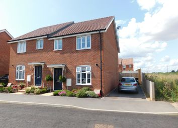 3 bed semi-detached house for sale in Sorley Road, Stowmarket IP14