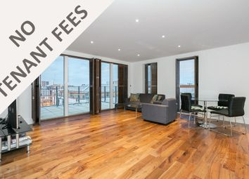 Thumbnail 3 bedroom flat to rent in Grand Canal Apartments, De Beauvoir Crescent