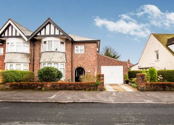 Thumbnail 4 bedroom semi-detached house for sale in Victoria Road, Fulwood, Preston