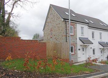 Thumbnail 3 bed end terrace house for sale in Liskeard, Cornwall