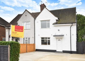 Thumbnail 3 bed semi-detached house to rent in Bransgrove Road, Edgware